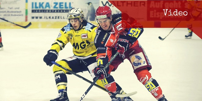 Video: EHC Bayreuth vs. Eispiraten Crimmitschau 4:3 (0:1,1:2,3:0)