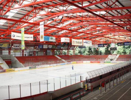 Eispiraten Crimmitschau planen Subbotnik im Kunsteisstadion Crimmitschau
