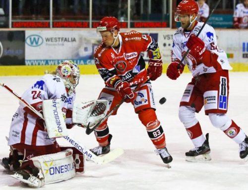 Eispiraten Crimmitschau vs EV Landshut 2:1 (1:0,1:1,0:0)