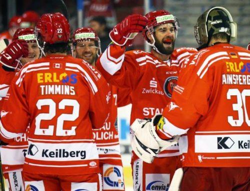 Eispiraten Crimmitschau vs. Lausitzer Füchse 3:1 (1:0,1:1,1:0)