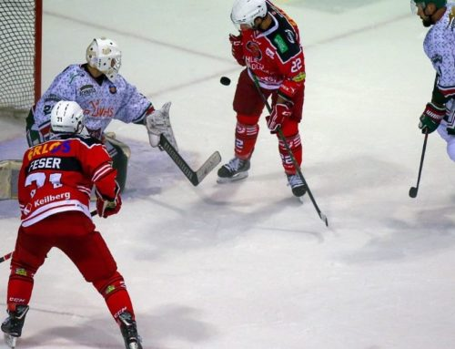 Eispiraten Crimmitschau vs. Rostocker EC 6:1 (2:0,2:1,2:0)